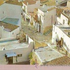 Postales: POSTAL A COLOR 1116 IBIZA BALEARES ESPAÑA CALLE TIPICA EXCLUSIVAS CASA FIGUERETAS. Lote 36592673