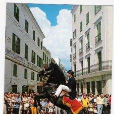 Postales: MAHON-MENORCA -FIESTAS PATRONALES VIRGEN DE GRACIA -. Lote 36705054