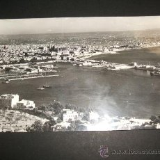 Postales: PALMA DE MALLORCA VISTA GENERAL DESDE EL CASTILLO DE BELLVER. Lote 36923050