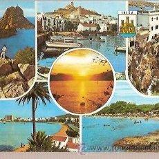 Postales: POSTAL A COLOR 280 IBIZA ISLAS BALEARES ESCRITA EXCLUSIVAS CASA FIGUERETAS. Lote 37197428