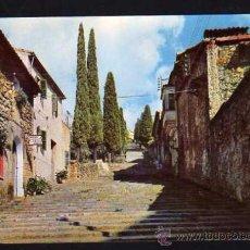 Postales: MALLORCA - POLLENSA - CALLE TIPICA. AL FONDO EL CALVARIO - CYP S.II N.3074 - 1964. Lote 37243521