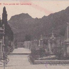 Postales: ANTIGUA POSTAL DE SOLLER - MALLORCA- VISTA DEL CEMENTERIO- FOTOTIPIA THOMAS- SIN CIRCULAR.. Lote 37318071