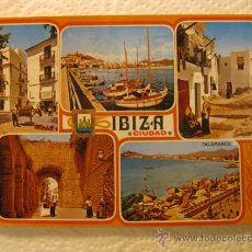 Postales: IBIZA (ISLAS BALEARES), CIRCULADA, T6666. Lote 37340883