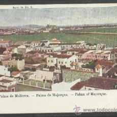 Postales: PALMA DE MALLORCA - SERIE 1ª Nº 2 - COL· REGIONAL - REVERSO SIN DIVIDIR (16.249). Lote 37608354