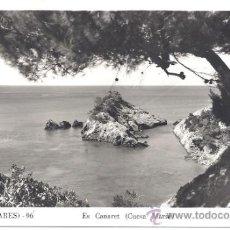 Postales: PS3153 IBIZA 'ES CANARET - CUEVA MARSÁ'. FOTO VIÑETS. ESCRITA Y FECHADA AL DORSO. 1954. Lote 52531370
