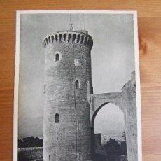 Postales: POSTAL DE MALLORCA - Nº2 CASTILLO DE BELLVER - FOTOCARD - C. 1950. Lote 38085434