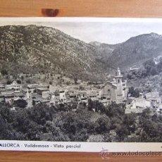 Postales: POSTAL DE MALLORCA - Nº18 VALLDEMOSA - FOTOCARD - C. 1950. Lote 38085816