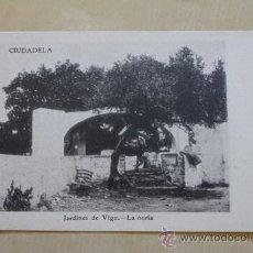 Postales: POSTAL. CIUDADELA. JARDINES DE VIGO. LA NORIA. MOLL CAMPS.. Lote 38098579