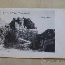 Postales: POSTAL. JARDINES DE VIGO. TORRE DEL LOBO. MOLL CAMPS.. Lote 38098630