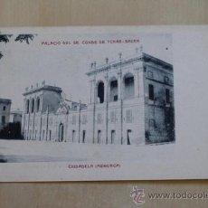 Postales: POSTAL. CIUDADELA (MENORCA). PALACIO DEL SR. CONDE DE TORRE-SACRA. MOLL Y MARQUÉS.. Lote 38102731