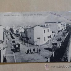 Postales: POSTAL. MAHÓN. MENORCA. CALLE DE COS Y DE GRACIA. 1910. ED. MANUEL SINTES.. Lote 38134543