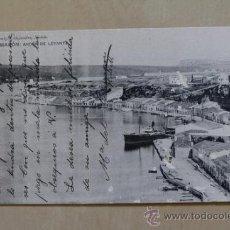 Postales: POSTAL. MAHÓN. ANDÉN DE LEVANTE. REMIGIO ALEJANDRO. 1913. Lote 38140216