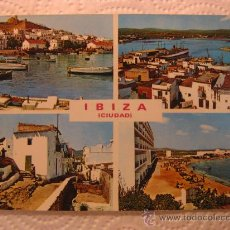 Postales: IBIZA (ISLAS BALEARES), CIRCULADA, T8187. Lote 38438956