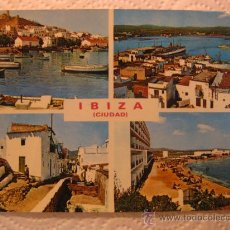 Postales: IBIZA (ISLAS BALEARES), CIRCULADA, T8188. Lote 38438957