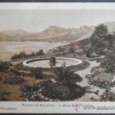 Postales: (252)POSTAL SIN CIRCULAR,JARDINES DE LA FORTALEZA,POLLENSA,ILLES BALEARS,BALEARES,CONSERVACION:VER F. Lote 38713013