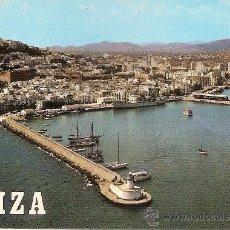 Postales: IBIZA, ISLA BLANCA, PUERTO - ESCUDO DE ORO Nº 92 - SIN CIRCULAR. Lote 38787678