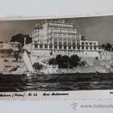 Postales: POSTAL. MALLORCA. (PALMA). HOTEL MEDITERRÁNEO. ROTGER.. Lote 38870274