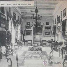Postales: (1716)POSTAL SIN CIRCULAR,RAXA – SALON DE ANTIGÜEDADES,PALMA,ILLES BALEARS,BALEARES,CONSERVACION:VER. Lote 38871370