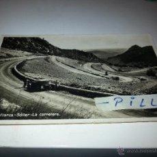 Postales: DOS ANTIGUAS POSTALES DE LA CARRETERA A SOLLER, MALLORCA (VER FOTO ADICIONAL DE LA SEGUNDA POSTAL). Lote 39353347