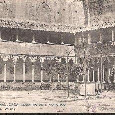 Postales: POSTAL PALMA DE MALLORCA CLAUSTRO DE S FRANCISCO HAUSER NUM 732 --OCASIÓN--. Lote 39954658