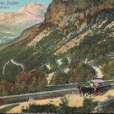 Postales: POSTAL MALLORCA SOLLER LA CARRETERA EDICION AM NUM 55 AÑO 1920 -OCASIÓN- . Lote 40359810