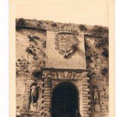 Postales: IBIZA PUERTA MONUMENTAL EN LAS MURALLAS SERIE A Nº 5 FOTO VIÑETS. Lote 40395014