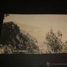 Postales: PALMA DE MALLORCA PAISAJE POSTAL FOTOGRAFICA AÑOS 20 MARINA GUERRA ALEMANA. Lote 40468279