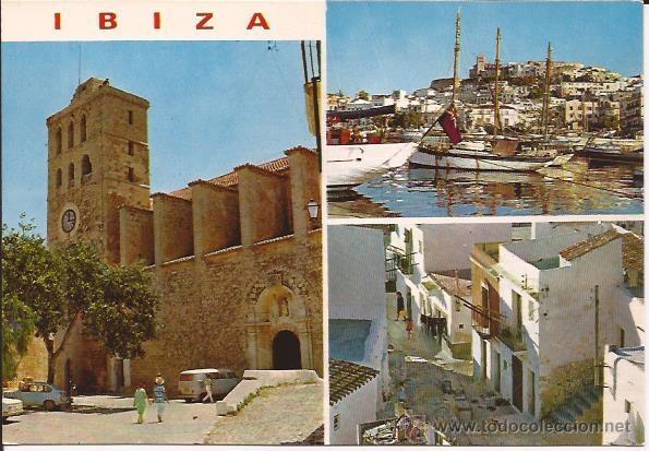IBIZA - Nº 275. DETALLES DE LA CIUDAD - EXCLUSIVAS CASA FIGUERETAS - SIN CIRCULAR (Postales - España - Baleares Moderna (desde 1.940))