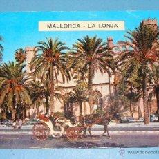 Postales - POSTAL DE MALLORCA. AÑO 1968. PALMA, LA LONJA, COCHE DE CABALLOS. 2281 - 40639172