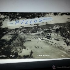Postales: MANUSCRITA AÑO 58, CALA MAYOR, MALLORCA. Lote 40949321
