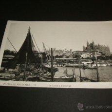 Postales: PALMA DE MALLORCA LA LONJA Y CATEDRAL. Lote 41122888
