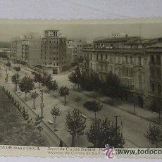 Postales: PALMA DE MALLORCA - AVENIDA CONDE SALLENT - HOTEL MUNDIAL - AÑOS 30 - NO CIRCULADA. Lote 143368144