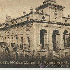 Postales: POSTAL ORIGINAL DECADA DE LOS 30. ISLAS BALEARES, MENORCA. Nº 1373. MAHON. VER TAMAÑO Y EXPLICACION. Lote 41753591