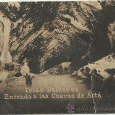 Postales: POSTAL ORIGINAL DECADA DE LOS 30. ISLAS BALEARES. Nº 1379. CUEVAS DE ARTA. VER TAMAÑO Y EXPLICACION. Lote 41753672