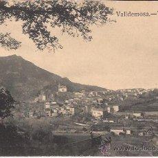 Postales: VALLDEMOSA - VISTA GENERAL - GRAFOS. MADRID - SIN CIRCULAR. Lote 42063414