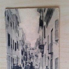 Postales: ANTIGUA POSTAL MENORCA. MAHÓN. CALLE DE SAN ROQUE Y PONTE DE BARBARROJA. CIRCULADA EL 24/07/1906. Lote 42207390