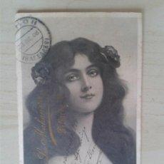 Postales: ANTIGUA POSTAL MENORCA. PUBLICIDAD LA MAHONESA. PELIGROS, 4. CIRCULADA 23/12/1908. . Lote 42207493