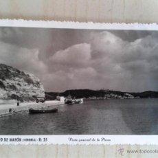 Postales: ANTIGUA POSTAL MENORCA. PUERTO DE MAHÓN. VISTA GENERAL. CIRCULADA.. Lote 42208637