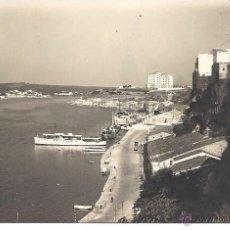 Postales: PS4153 MAHÓN 'PUERTO Y CIUDAD'. EDITORIAL FOTOGRÁFICA. FECHADA EN 1957. Lote 42403802