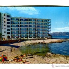 Cartes Postales: MALLORCA CALA BONA HOTEL LEVANTE PLANAS ESCRITA 1963. Lote 42426050
