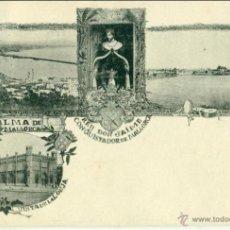 Postales: PALMA DE MALLORCA. TIPO GRUSS. CIRCULADA EN AUSTRIA EN 1899. MUY RARA.. Lote 42440867
