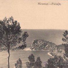 Postales: MIRAMAR - PAISAJE - GRAFOS MADRID - SIN CIRCULAR - AÑOS 30. Lote 42588888