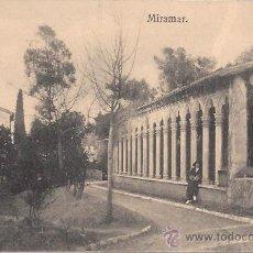 Postales: MIRAMAR - MIRAMAR - GRAFOS MADRID - SIN CIRCULAR - AÑOS 30. Lote 42589024