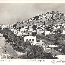 Postales: PS4217 IBIZA 'AVENIDA DE ESPAÑA'. FOTO VIÑETS. CIRCULADA EN 1954. Lote 42630319
