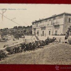Postales: ANTIGUA POSTAL DE PALMA DE MALLORCA. CA'S CATALA. CIRCULADA. Lote 42872947