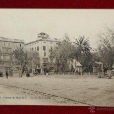 Postales: ANTIGUA POSTAL DE PALMA DE MALLORCA. JARDIN DE LA REINA. CIRCULADA. Lote 42872971