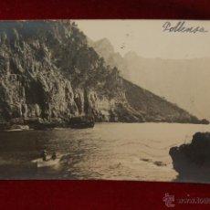 Postales: ANTIGUA POSTAL DE POLLENSA. MALLORCA. VISTA COSTERA. CIRCULADA. Lote 42873051