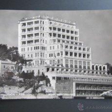 Postales: POSTAL BALEARES, MALLORCA. PALMA. HOTEL MEDITERRÁNEO. CIRCULADA. Lote 43014799