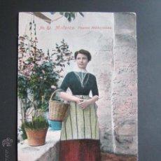 Postales: POSTAL MALLORCA. PAYESA MALLORQUINA. . Lote 43226123