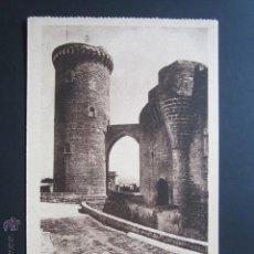 Postales: POSTAL MALLORCA. PALMA DE MALLORCA. CASTILLO DEL BELLVER. TORRE DEL HOMENAJE. . Lote 43226401